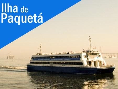 Barcas para Ilha de Paquetá